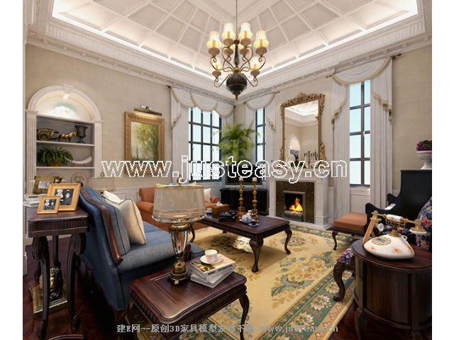 客厅卧室图片集锦二; 火星室内设计大赛获奖作品4;