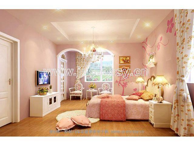 欧式儿童卧室-模型首页-建e网-中国室内设计资源平台