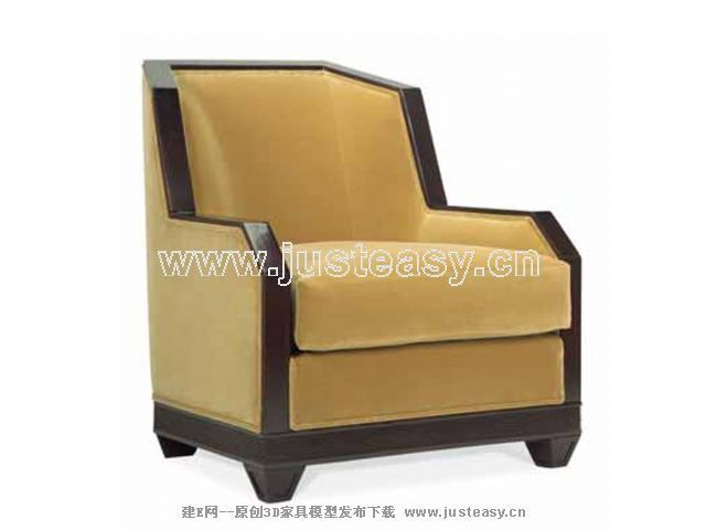 现代简约沙发3d模型_图片素材库;