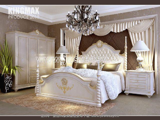 欧式床-床头柜