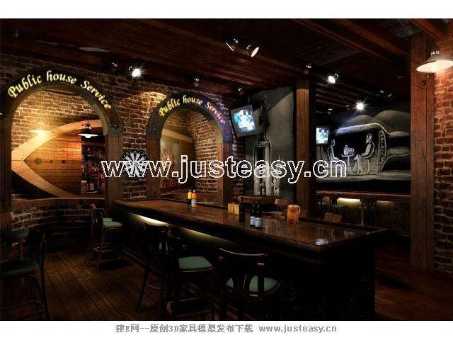 韩式酒吧设计风格