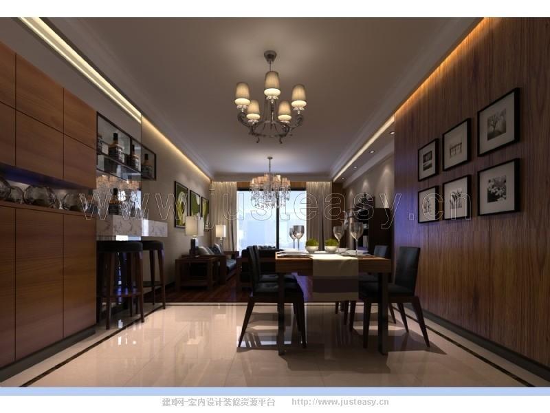 词:客厅,餐厅,现代,家居住宅,室内,场景,现代流行,效果图,模型下载,建
