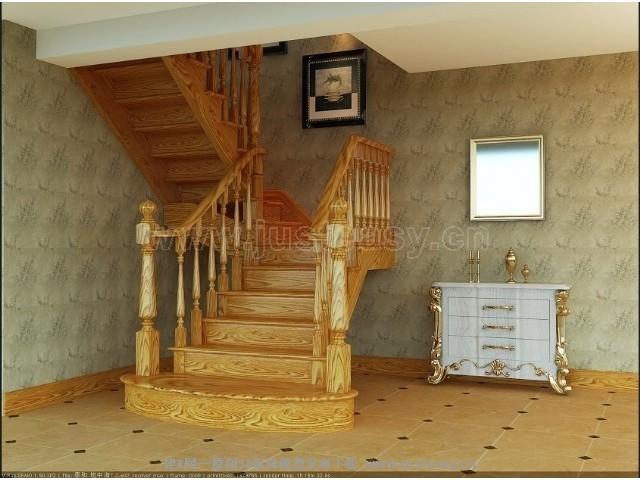欧式地中海楼梯间3d模型下载[id:70998]