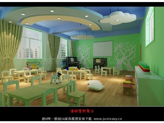 幼儿园室内活动室 幼儿园音体活动室设计图 幼儿园室内设