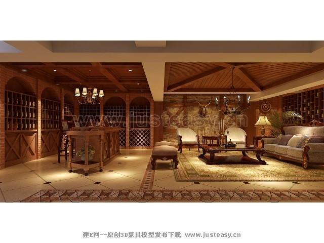外观图片大全,美式别墅模型,美式别墅,纯美式别墅装修效果图