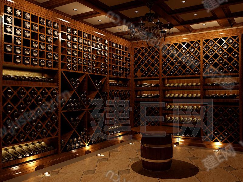 地下室酒窖图片; 欧式别墅酒窖效果图;