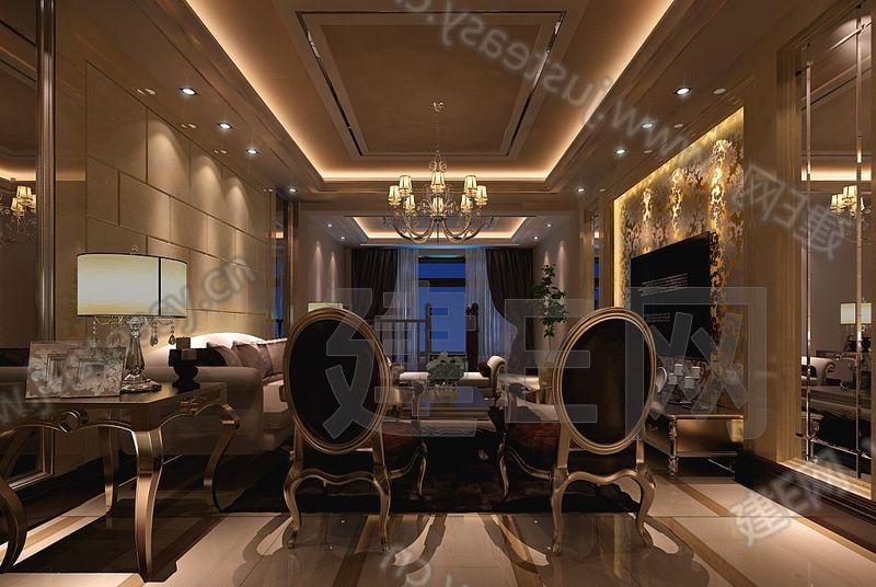 简约欧式客餐厅沙发椅子组合3d模型下载[id:92130]