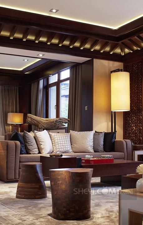 hsd水平线琚宾--北京亿城燕西华府中式别墅