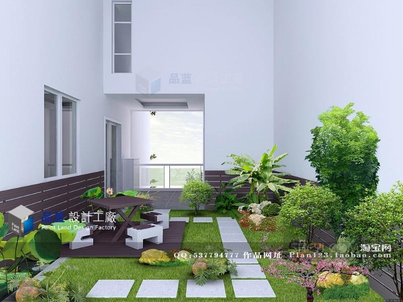 田园小清新 240平米 复式楼设计 装修设计