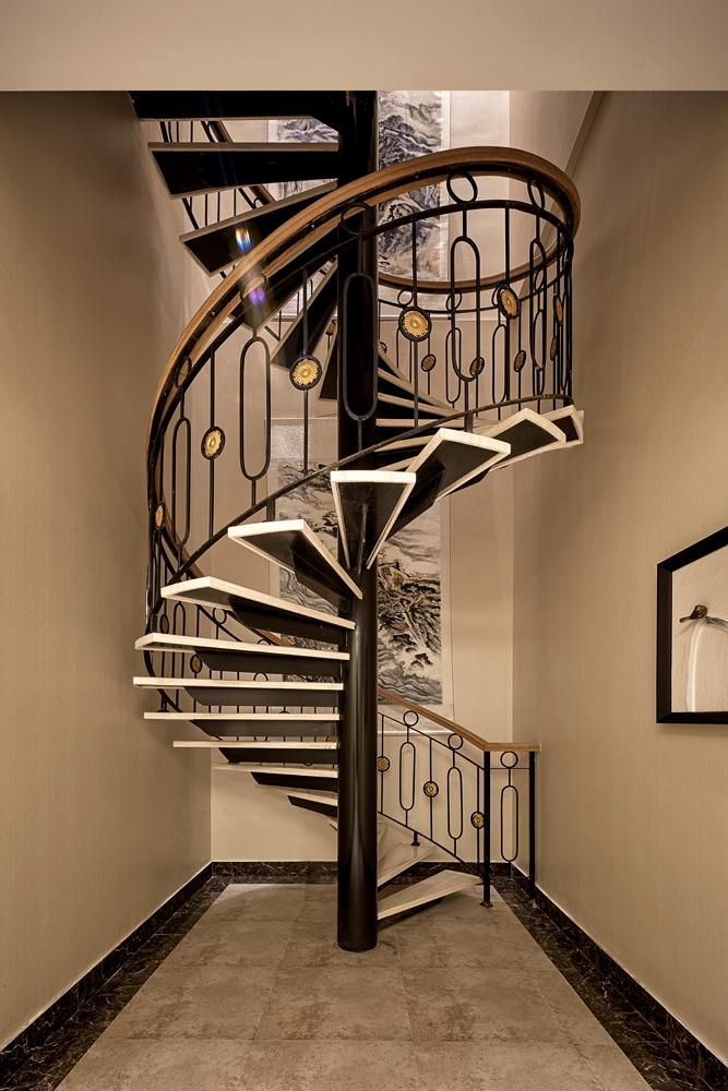 简奢楼梯间设计