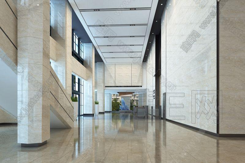 商务中心3d模型
