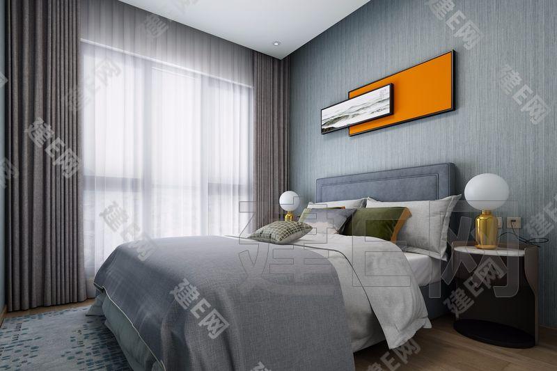 K·S卡莎设计机构 Cosmo住宅 现代卧室3d模型