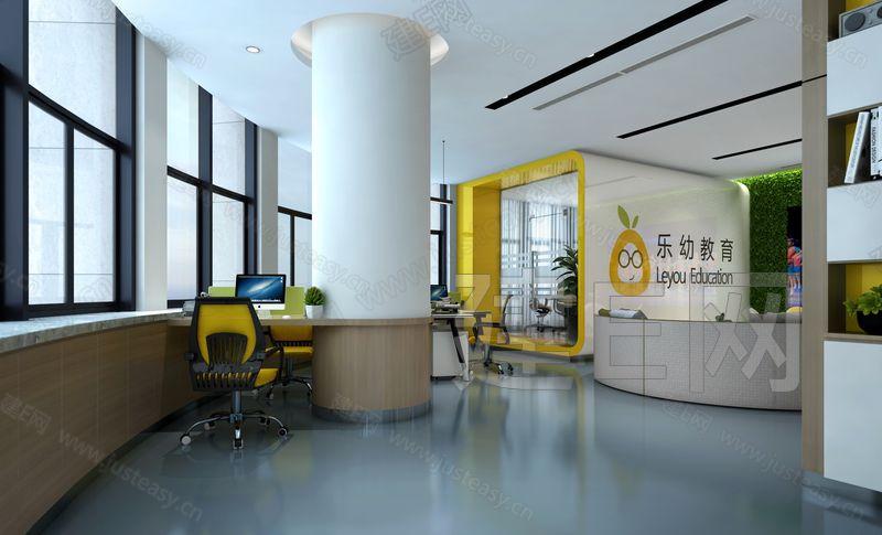 现代办公机构3d模型