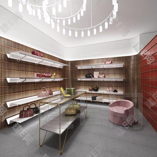 现代商店3d模型