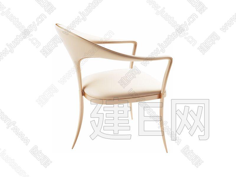 INHOUZZ现代沙发椅子3d模型