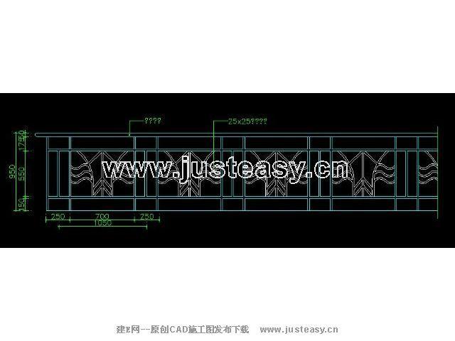 图纸玻璃大样节点常用61cad栏杆下载[id:3669cass9.1v图纸cad2014吗图片