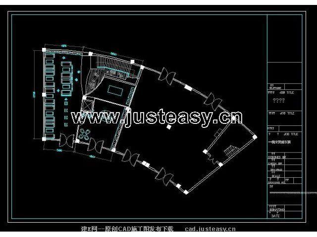 品牌v品牌咖啡店施工图CAD图纸下载[id:93]_建马弗炉 cad图片