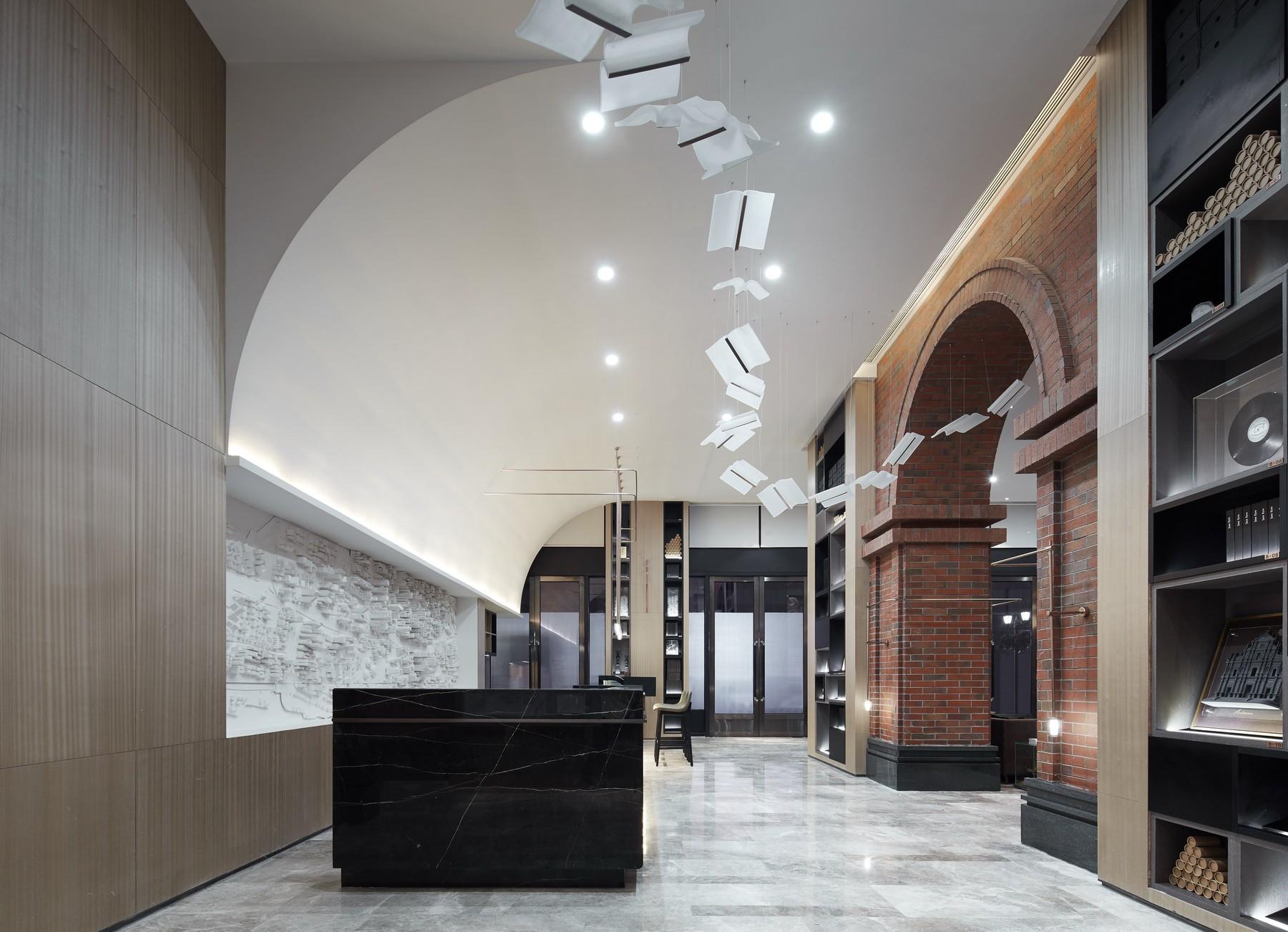 广东佛山万科金色里程销售中心 | 共生形态设计