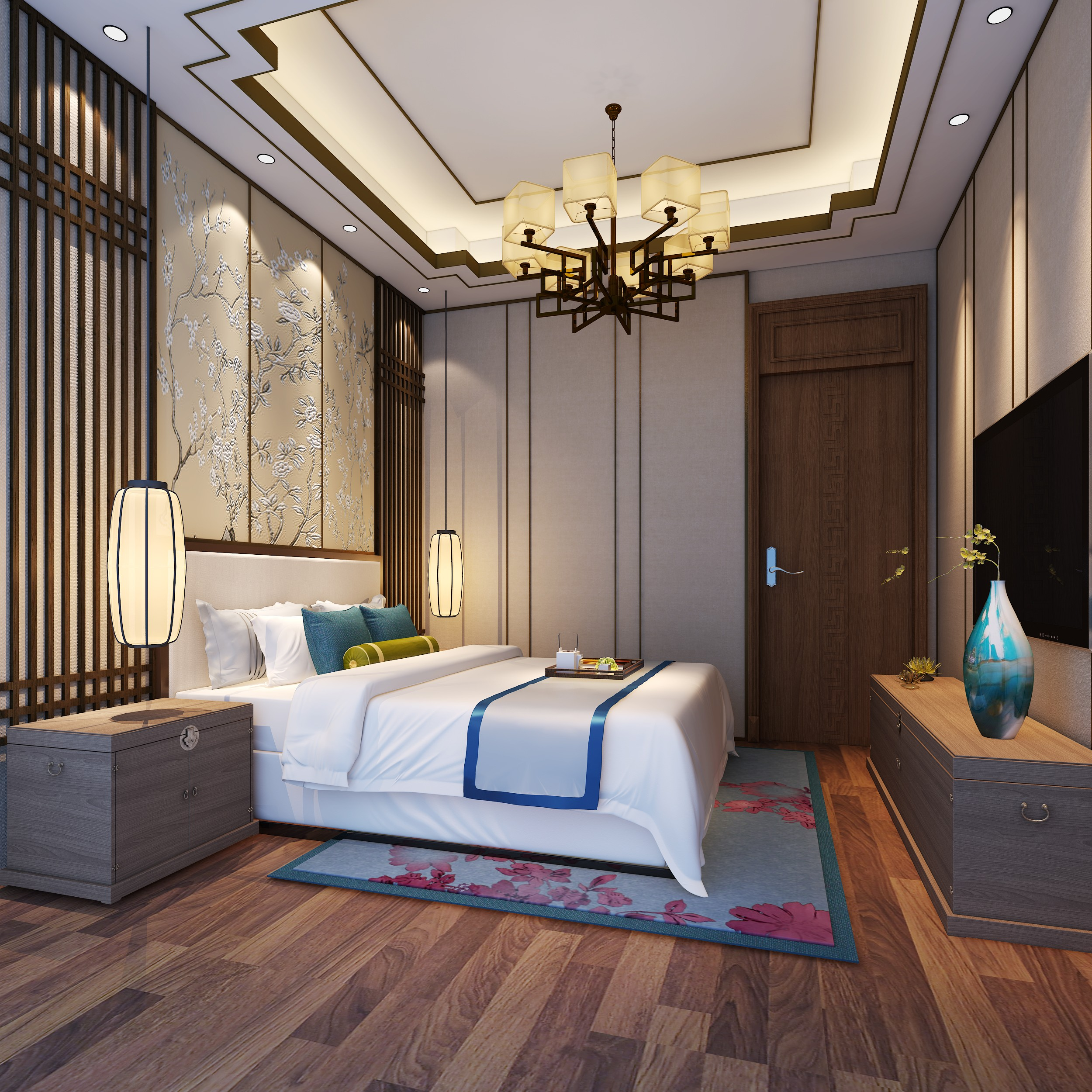 背景墙 房间 家居 起居室 设计 卧室 卧室装修 现代 装修 2500_2500