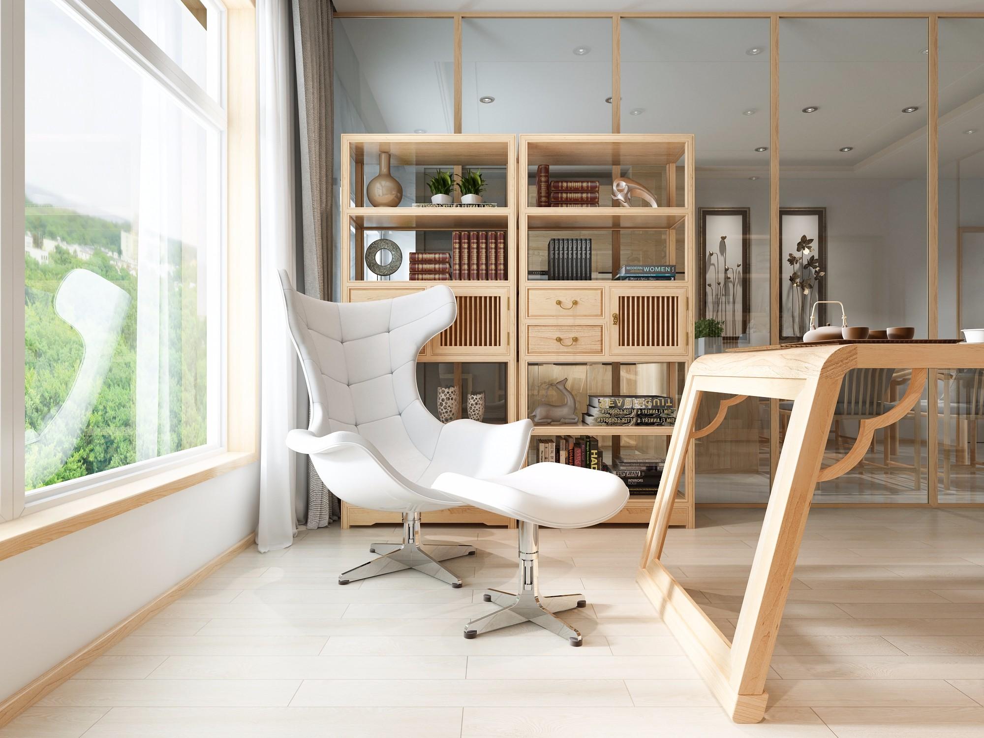 家居 设计 书房 装修 2000_1500图片
