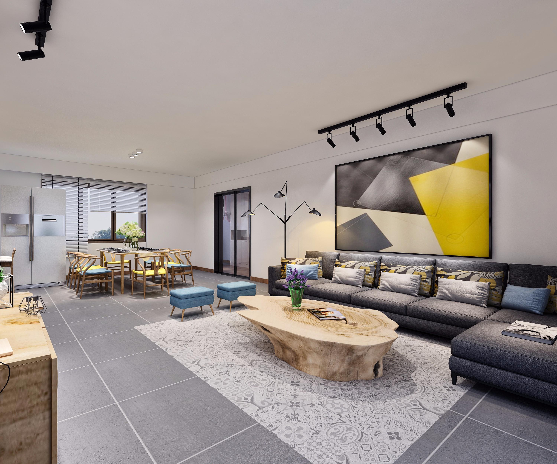 家装极简 - 效果图交流区-建e室内设计网