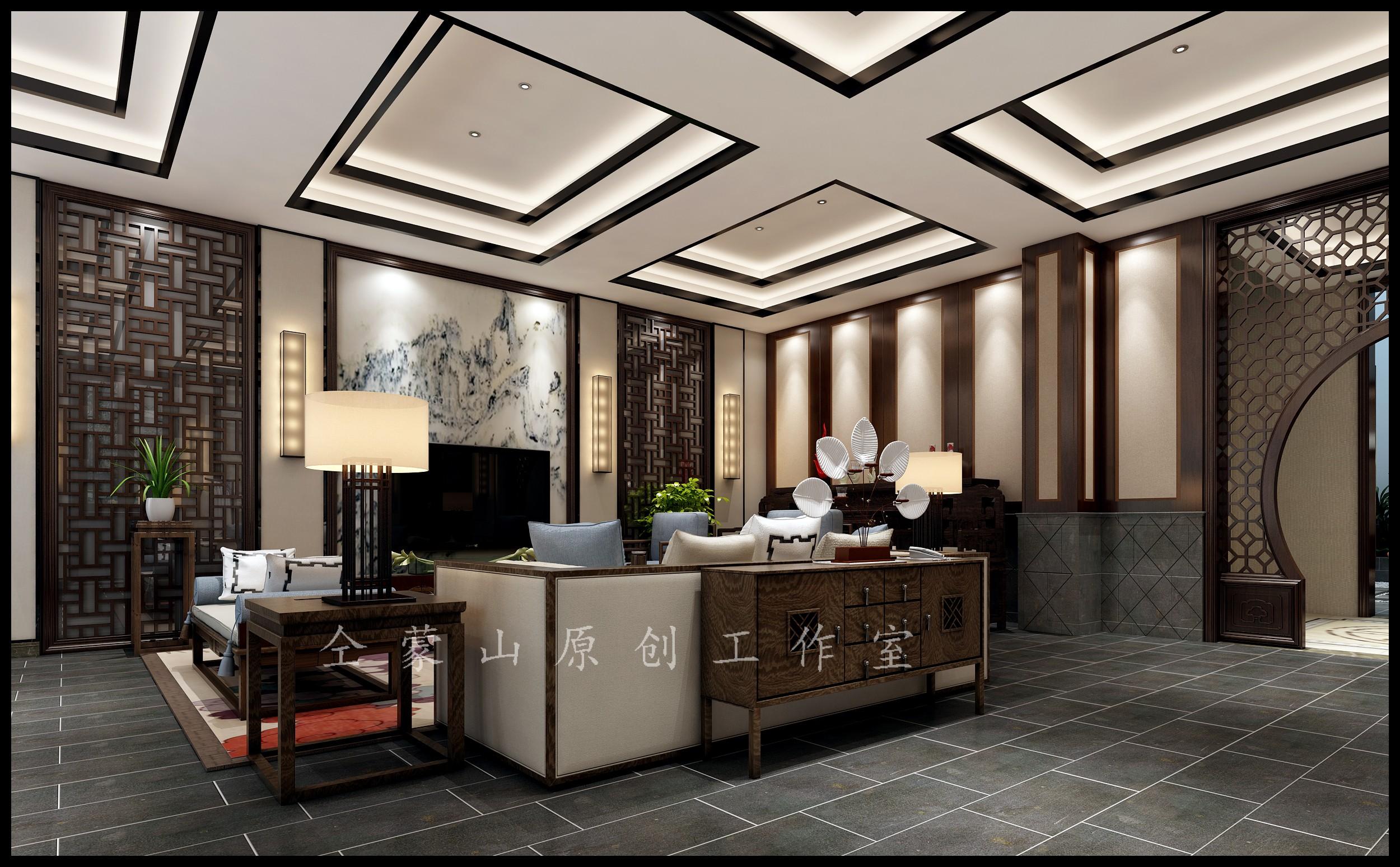 预算:     150万 装修风格: 新中式风格 设计师:   仝蒙山 所属店面