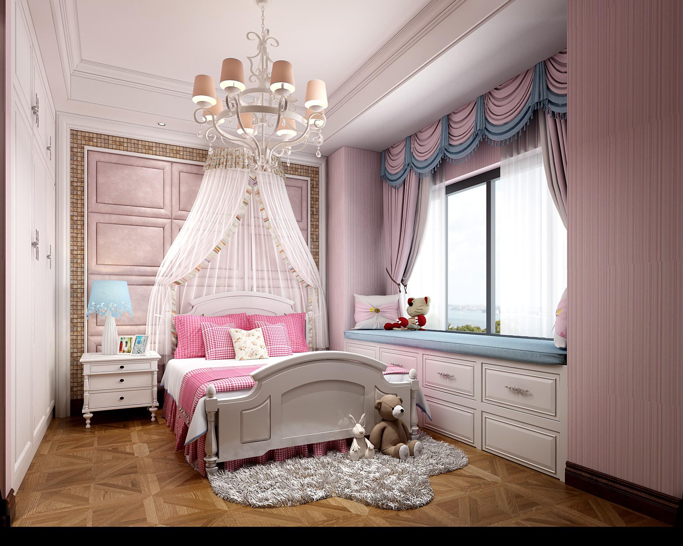 图匠视觉 美式卧室 - 效果图交流区-建e室内设计网