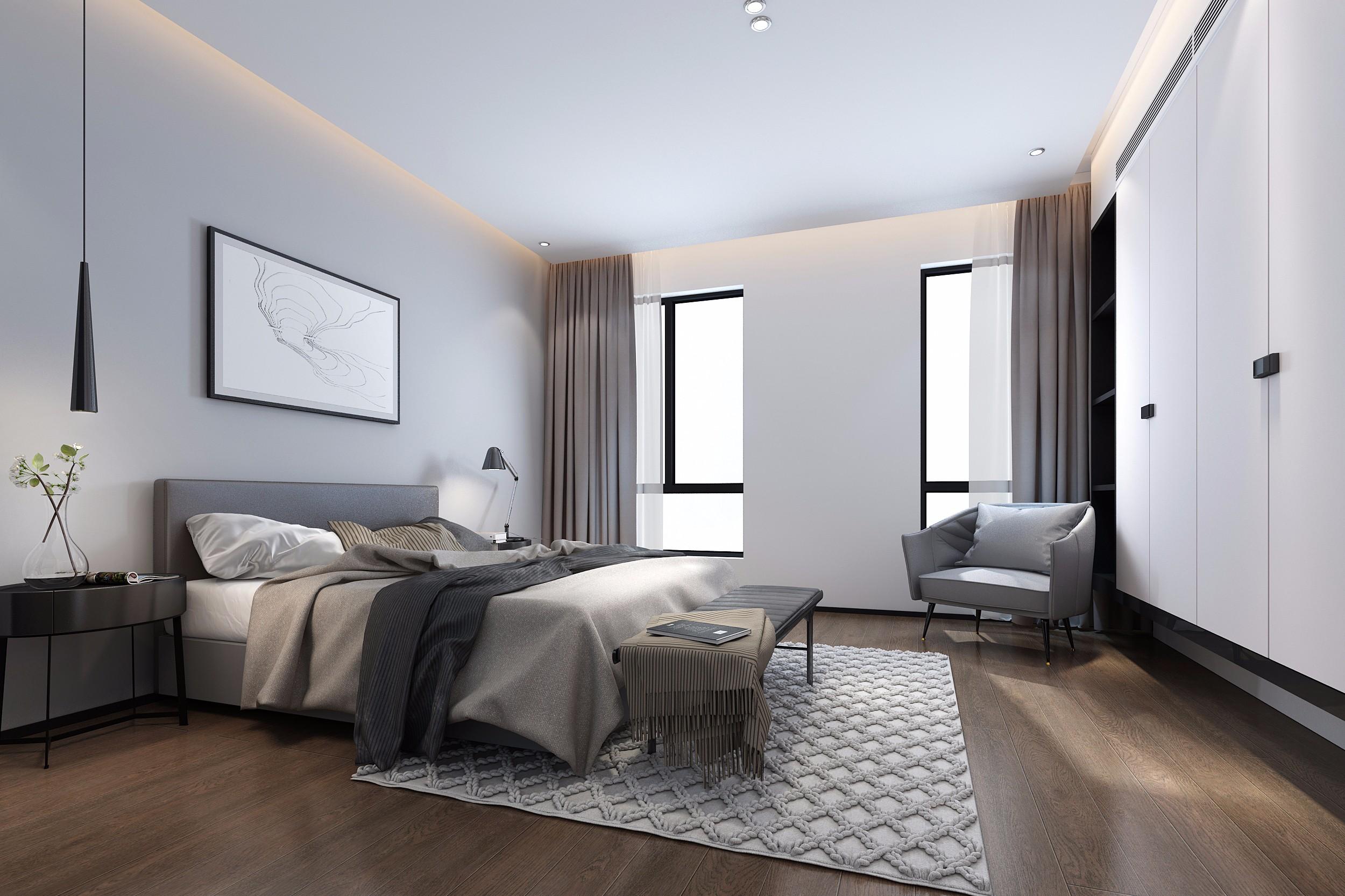 背景墙 房间 家居 起居室 设计 卧室 卧室装修 现代 装修 2500_1666