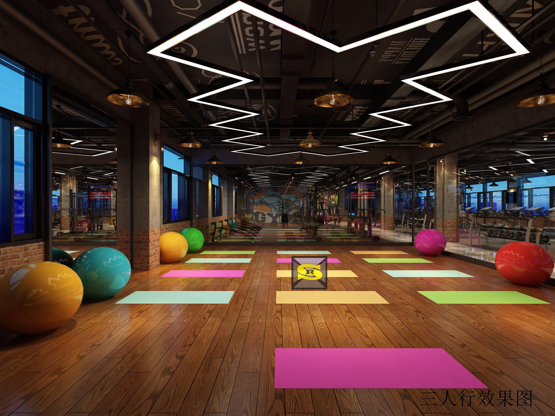 健身房 - 效果图交流区-建e室内设计网