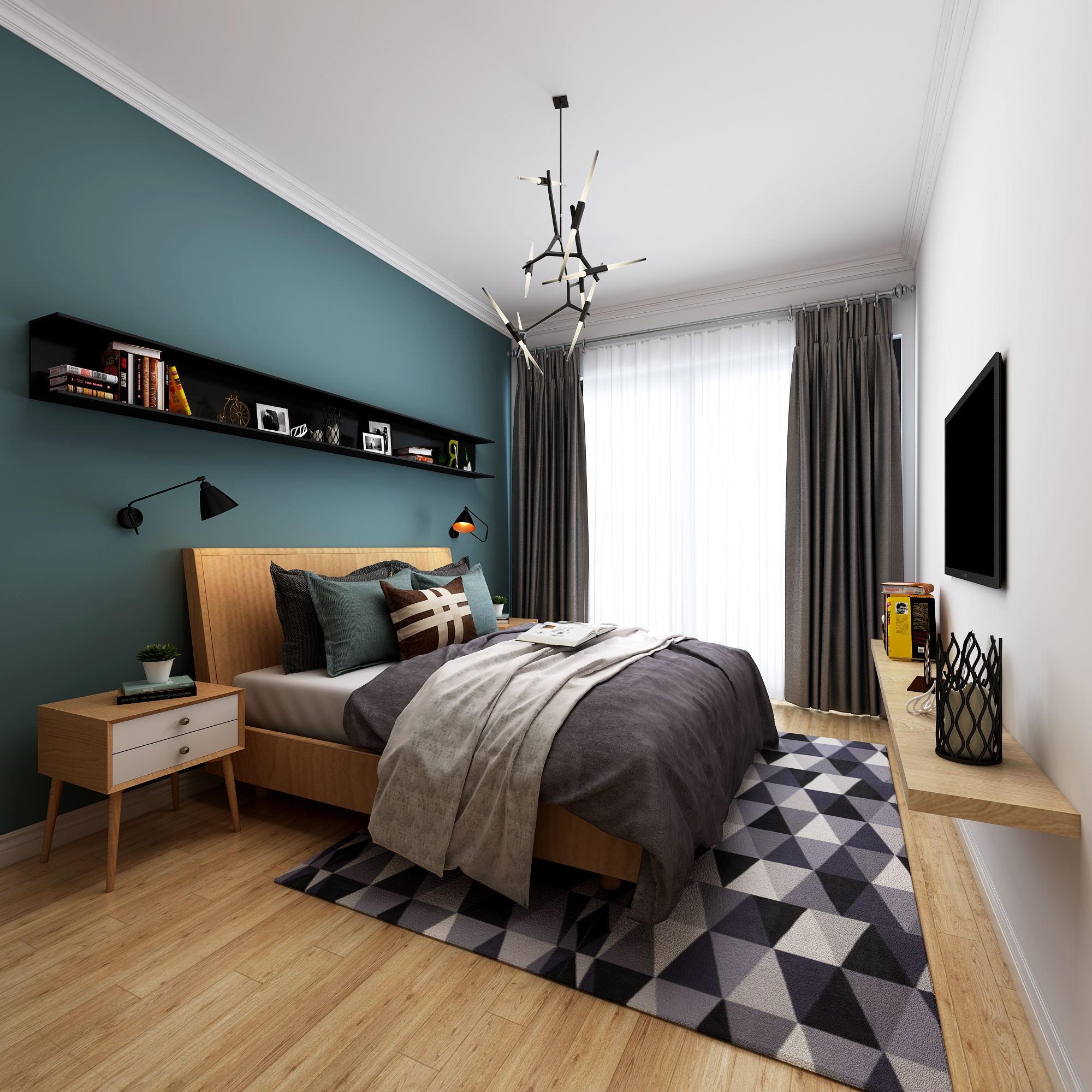 背景墙 房间 家居 起居室 设计 卧室 卧室装修 现代 装修 2000_2000