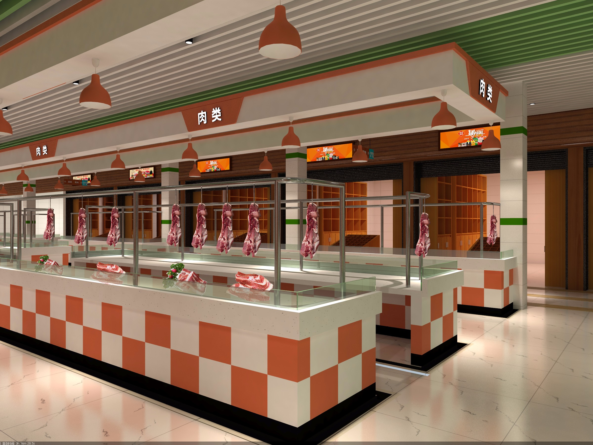 八里街农贸市场 - 效果图交流区-建e室内设计网