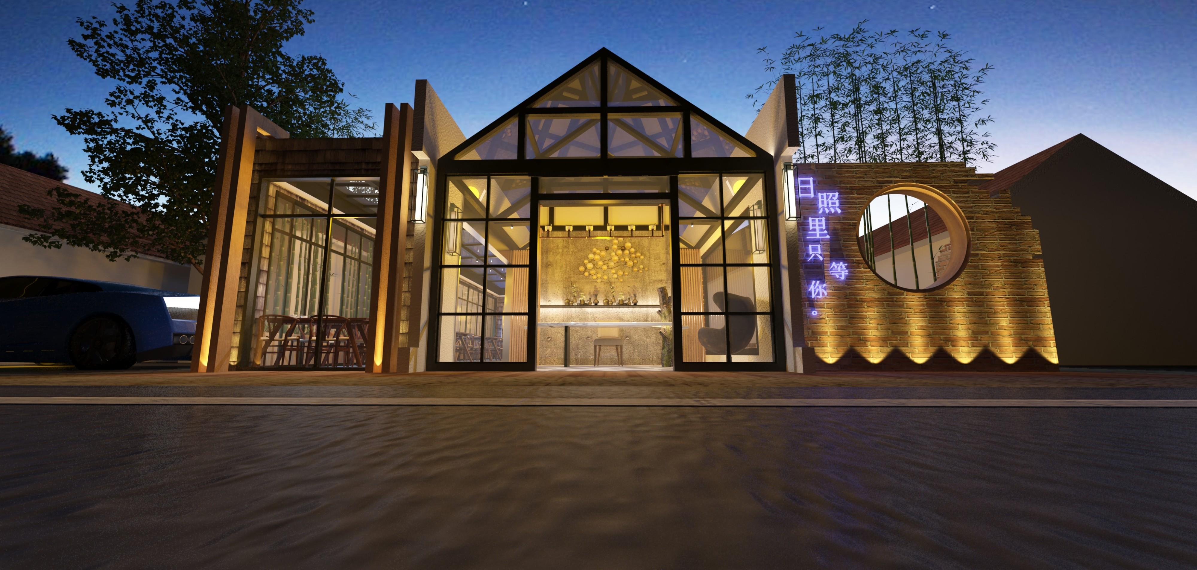 民宿酒店项目 - 效果图交流区-建e室内设计网