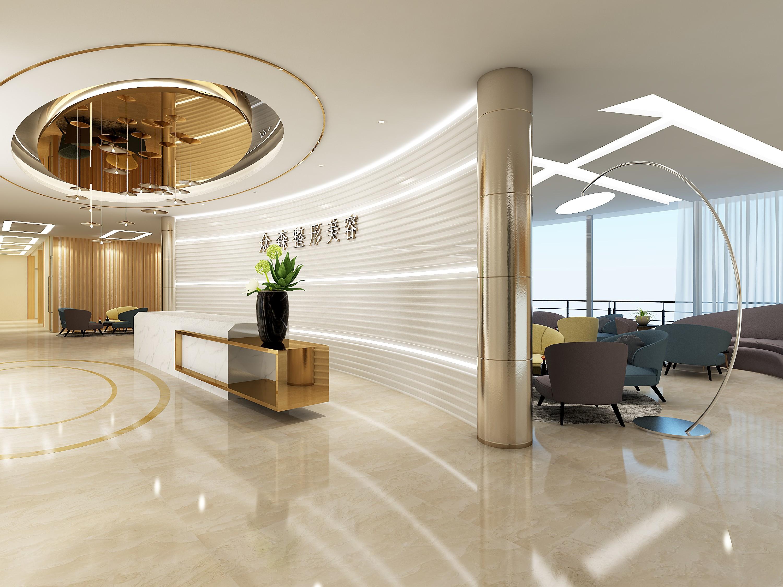 整形医院 - 效果图交流区-建e室内设计网