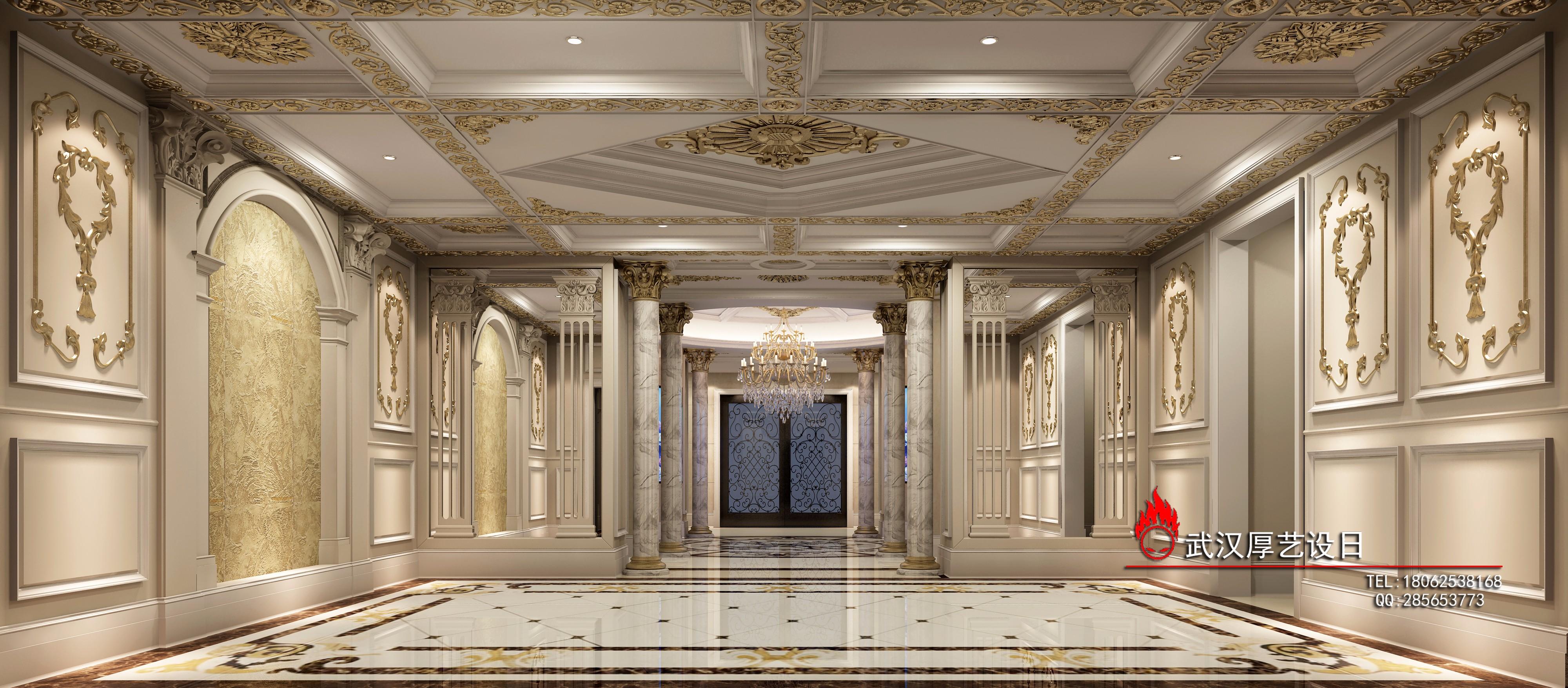 欧式别墅效果图 - 效果图交流区-建e室内设计网