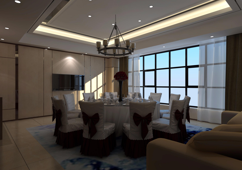 餐厅包间 - 效果图交流区-建e室内设计网