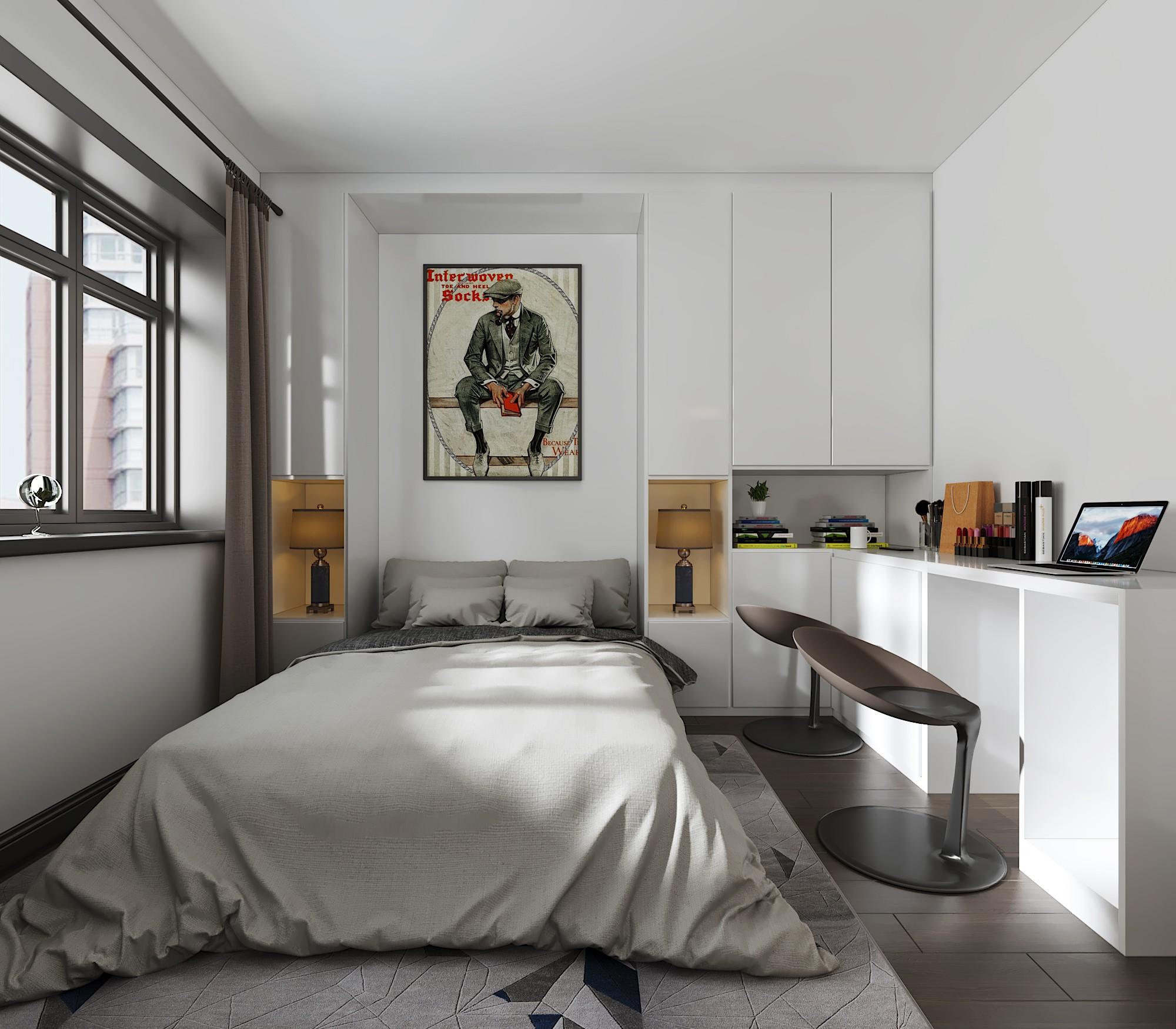 30平小公寓 - 效果图交流区-建e室内设计网