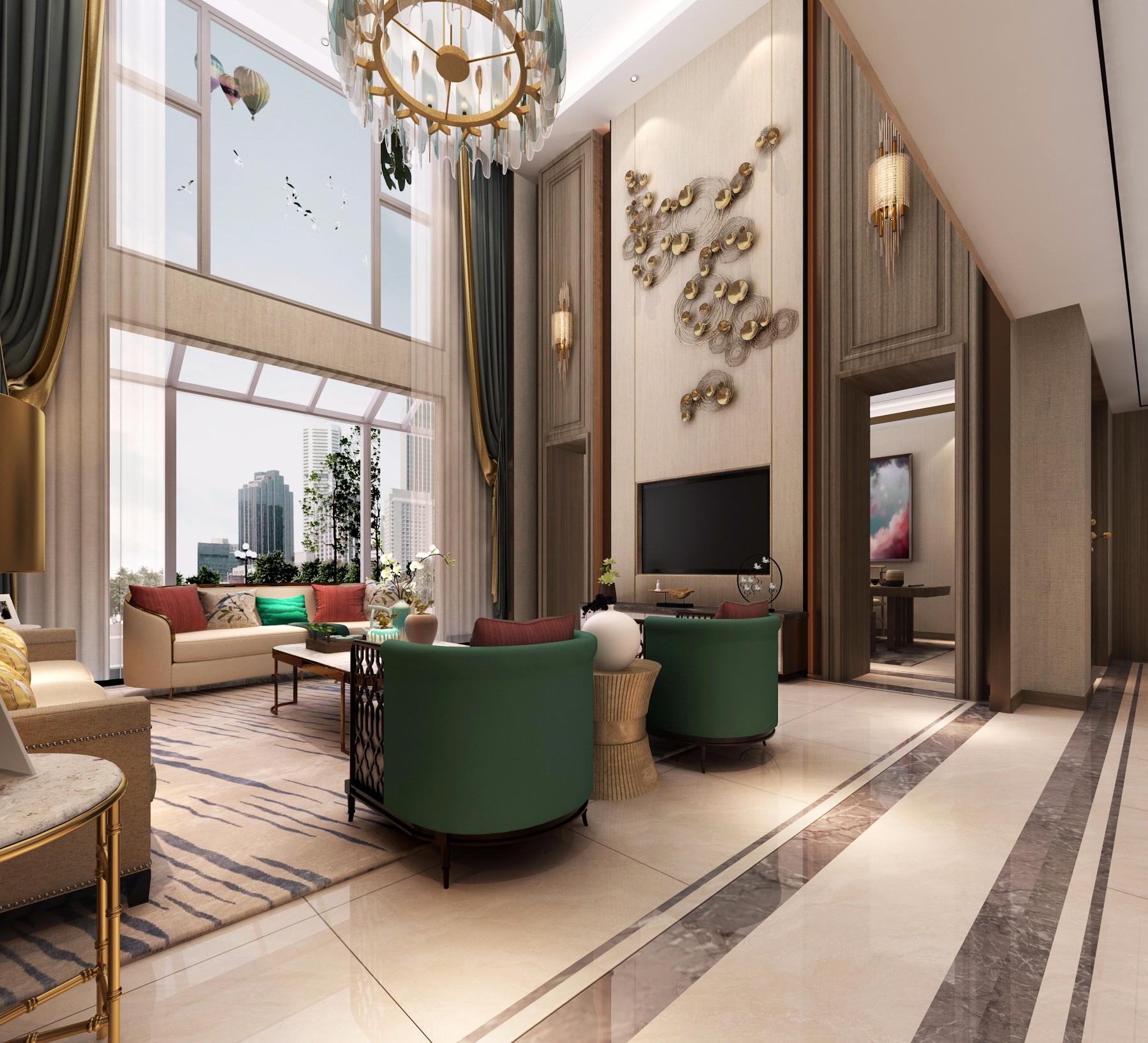 新中式别墅空间全案设计