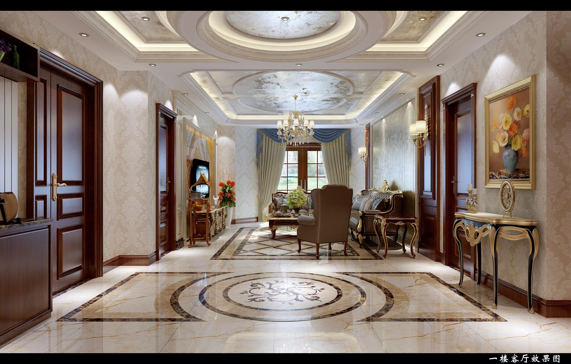 欧式别墅 - 效果图交流区-建e室内设计网