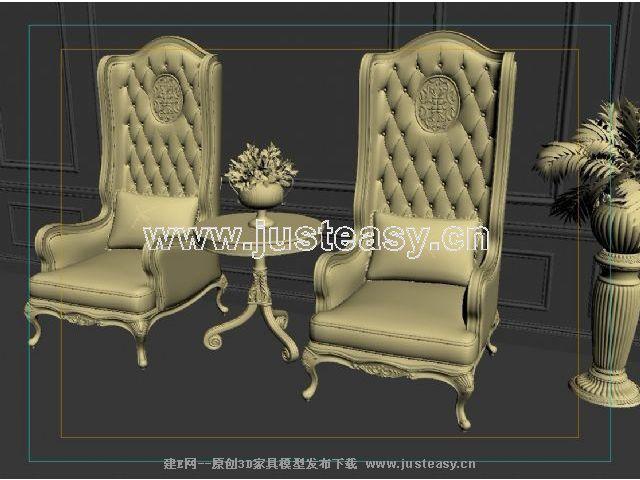 欧式宫廷椅子高清