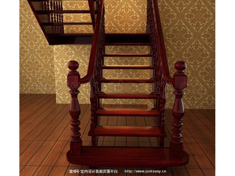 楼梯/栏杆/柱子 欧式实木