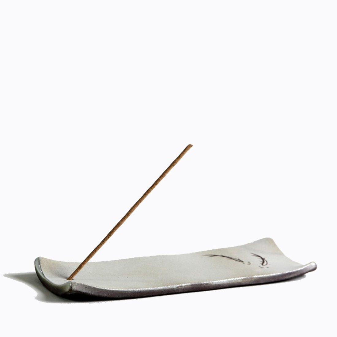 「粗陶香插 」手工陶瓷香台,百诗园茶诵,建e优选,设计图片