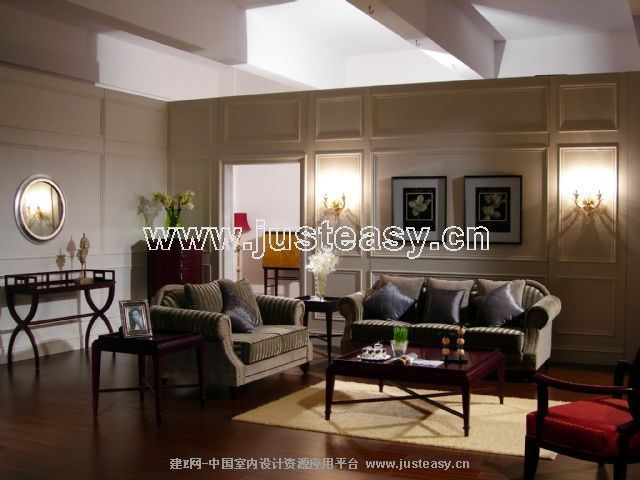 室 135㎡ 客厅装修效果图 家具图片客厅实景图 装修图满多