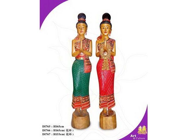 环川东南亚雕塑摆设