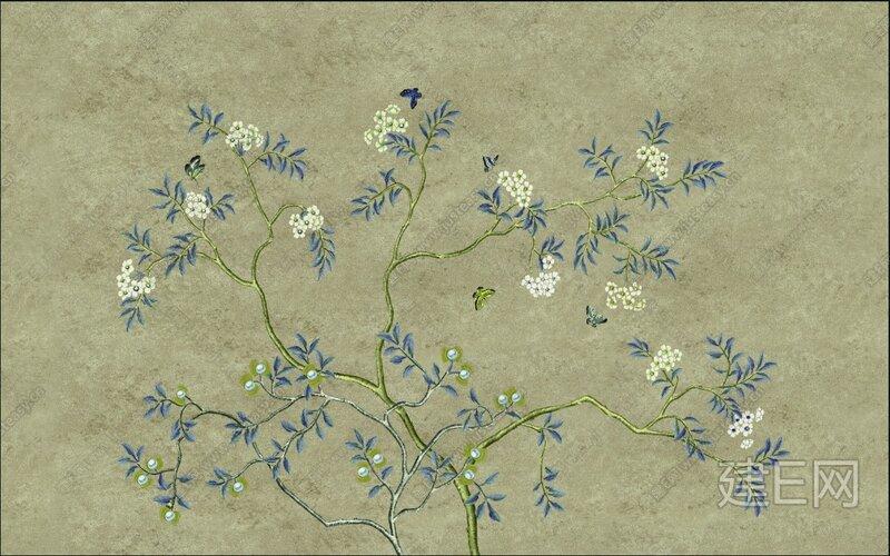 中式花鸟系列【贴图id:41793】