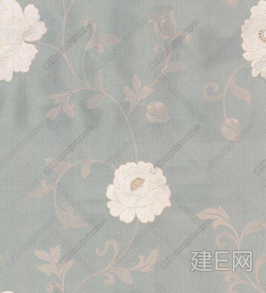 贴图专区 壁纸 欧式风格  绣花墙布【贴图id:64838】