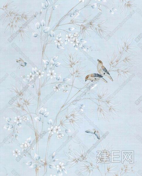 花鸟墙纸【贴图id:104681】