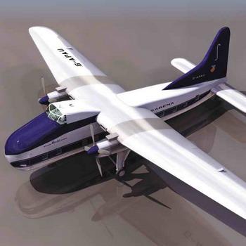 小型飞机模型3d模型下载[id:3357]_建e模型网_建e网