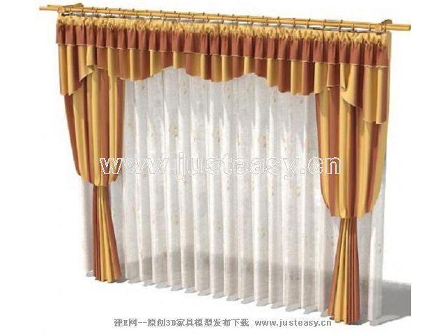 丝绸窗帘花纹贴图图片