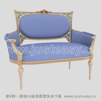 1沙发max125 沙发; 欧式金边紫色沙发