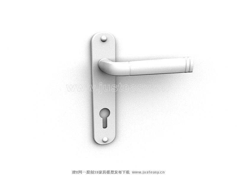 门把手模型3d模型下载[id:6911]